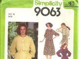 Simplicity 9063 A
