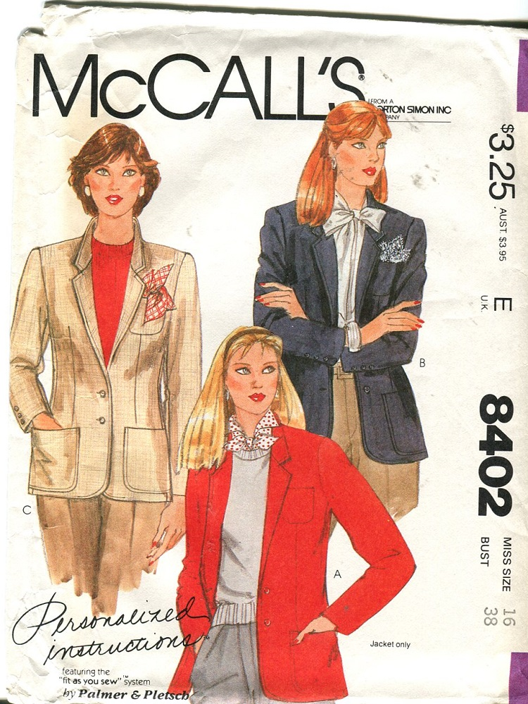 McCall's 8402 A