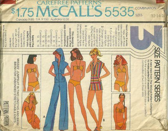 McCall's 5535 A