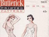 Butterick 5805