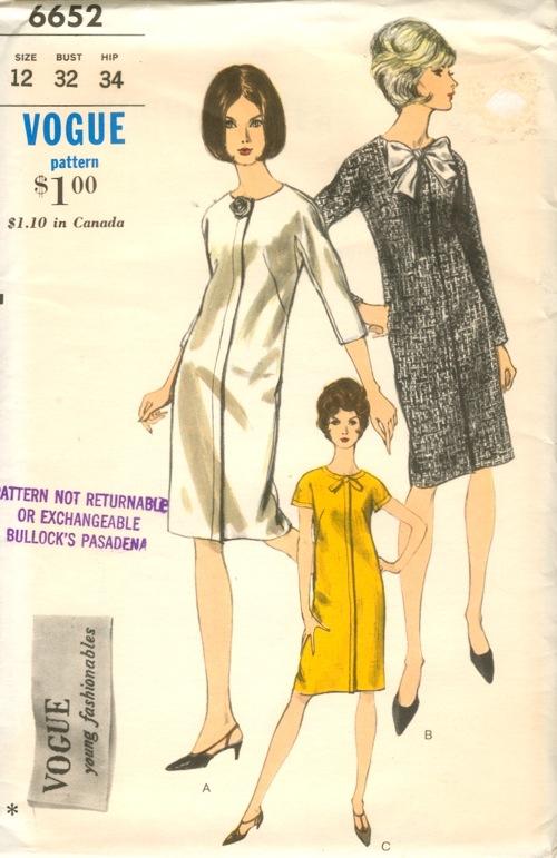 Vogue 6652