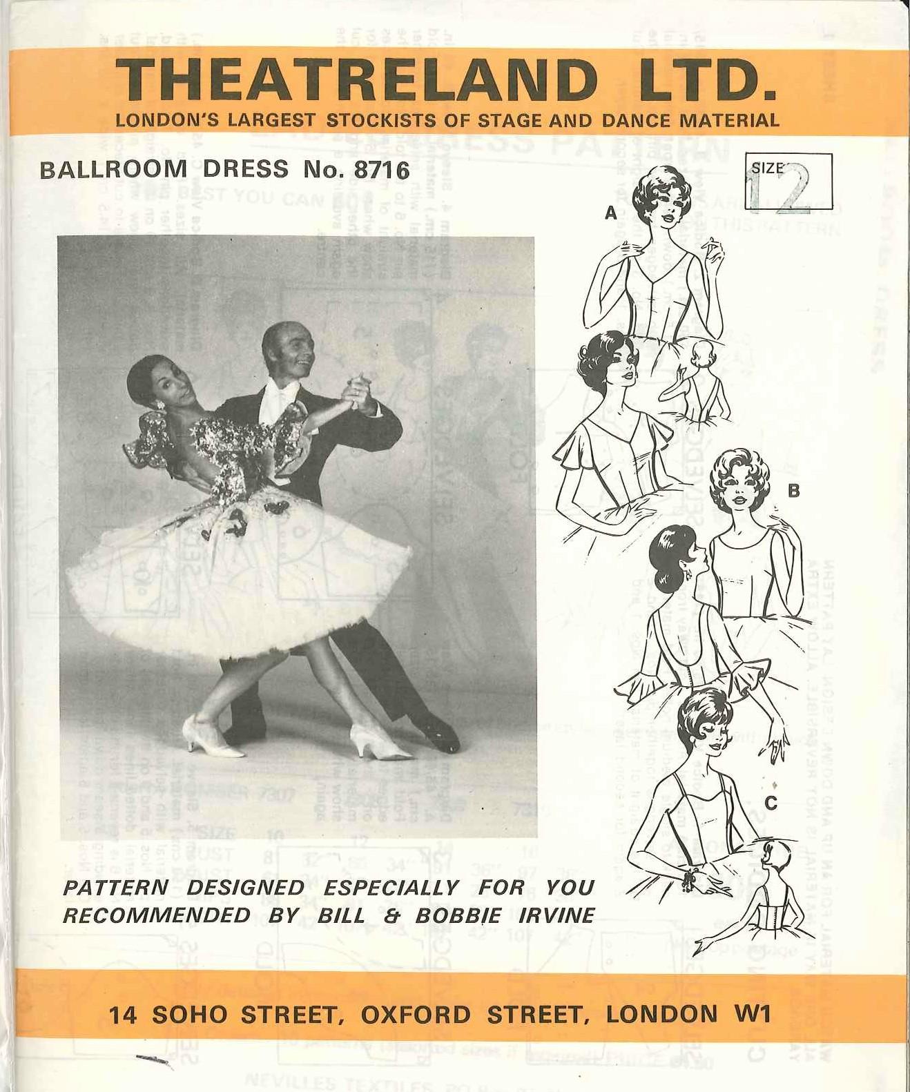 Theatreland Ballroom Dress 8716