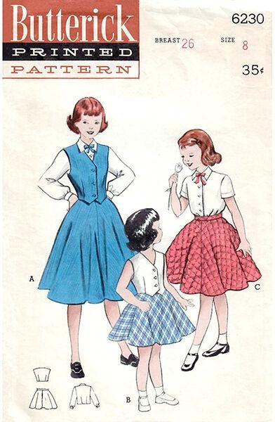 Butterick 6230 girls vintage pattern.jpg