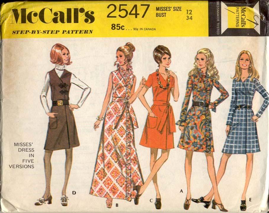 McCall's 2547 A