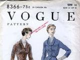 Vogue 8366 A