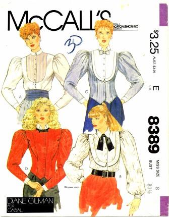 McCall's 8389 A