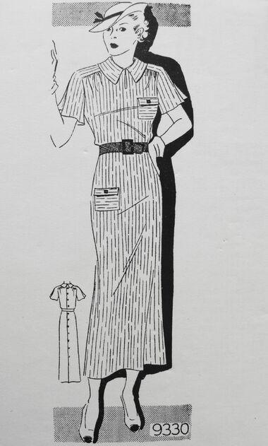 Marian Martin 9330 Circa 1930s