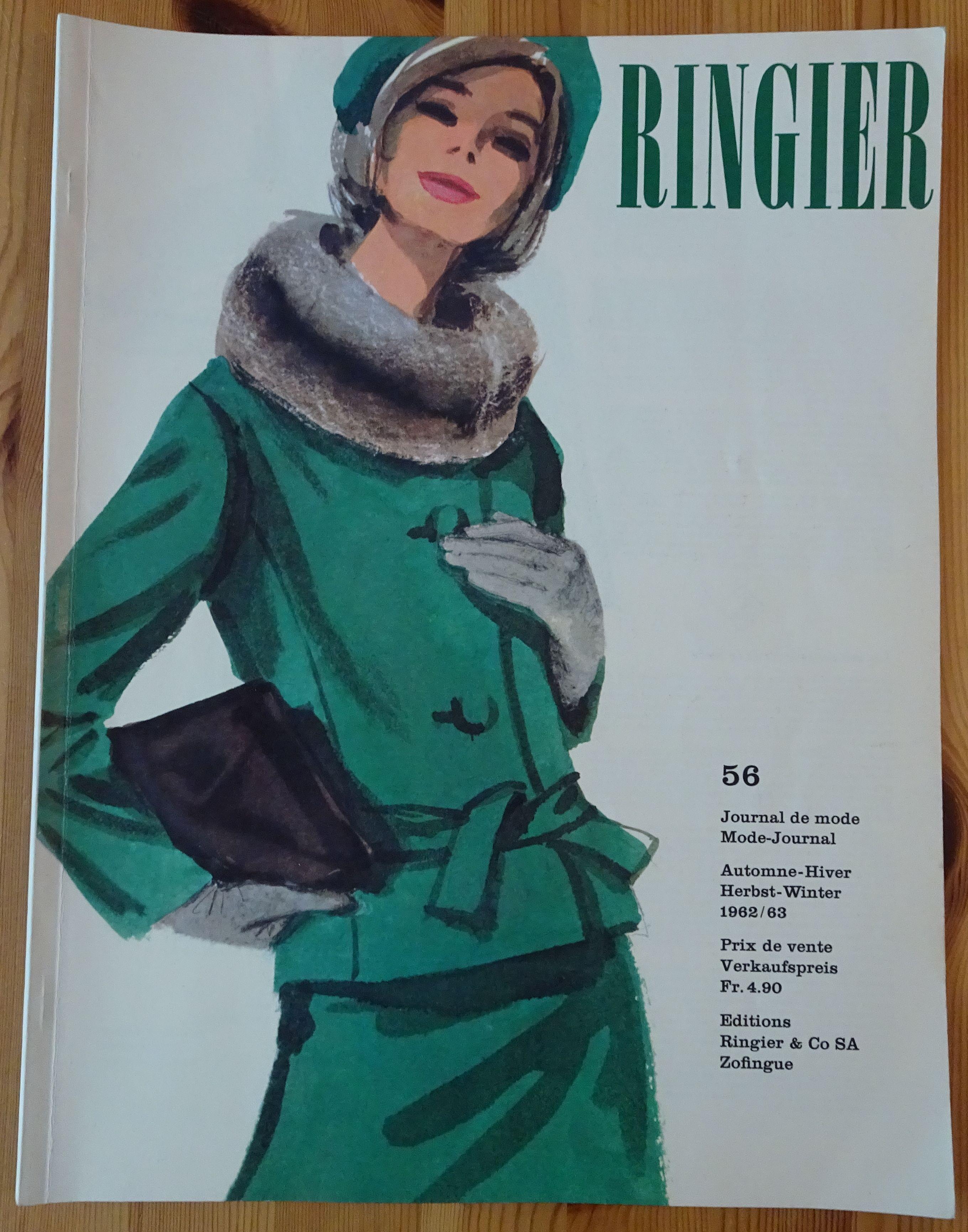 Ringier Journal de Mode Autumn/Winter 1962/63