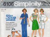 Simplicity 8106 B