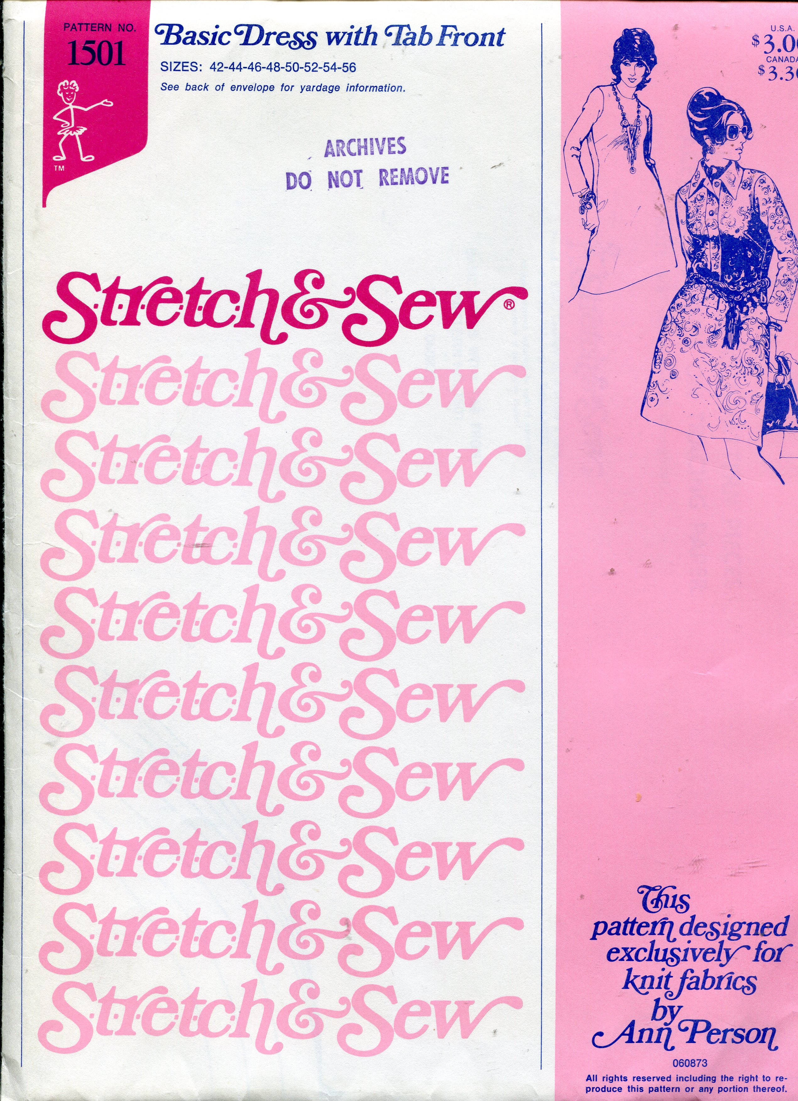 Stretch & Sew 1501