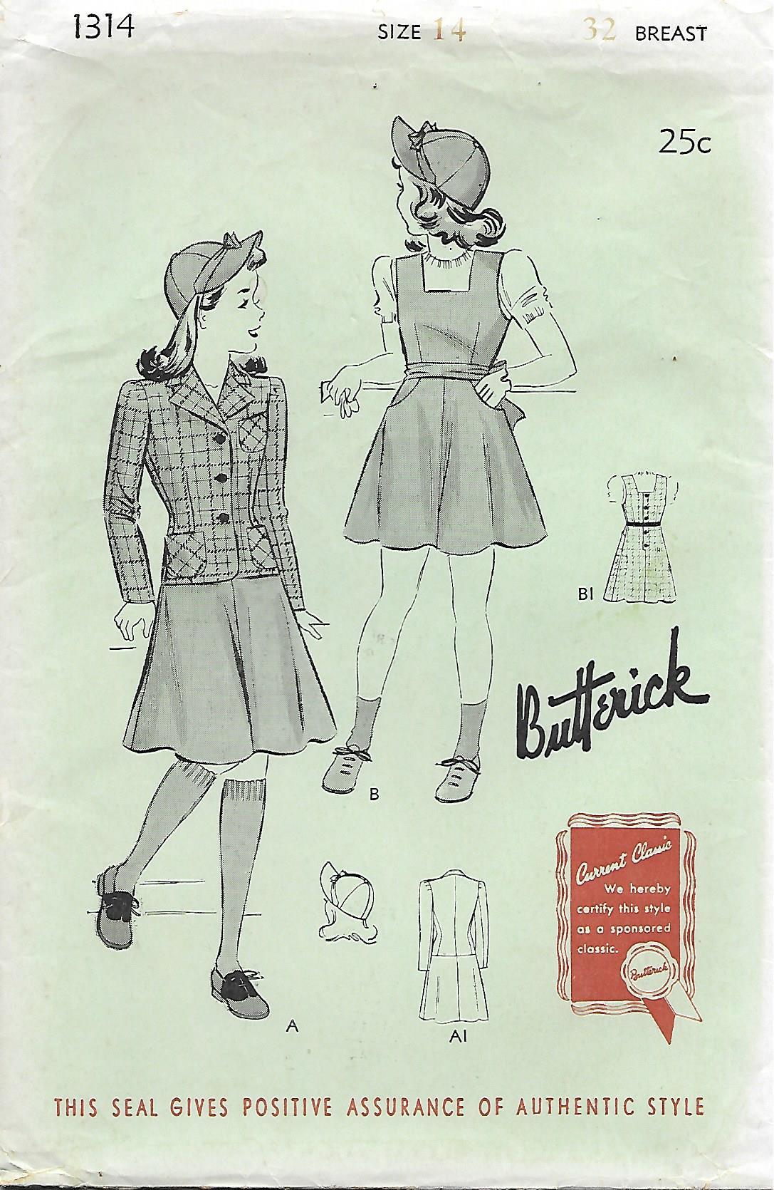 Butterick 1314