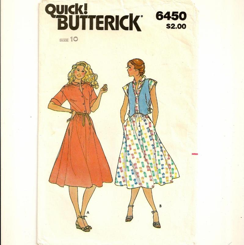 Butterick 6450 B
