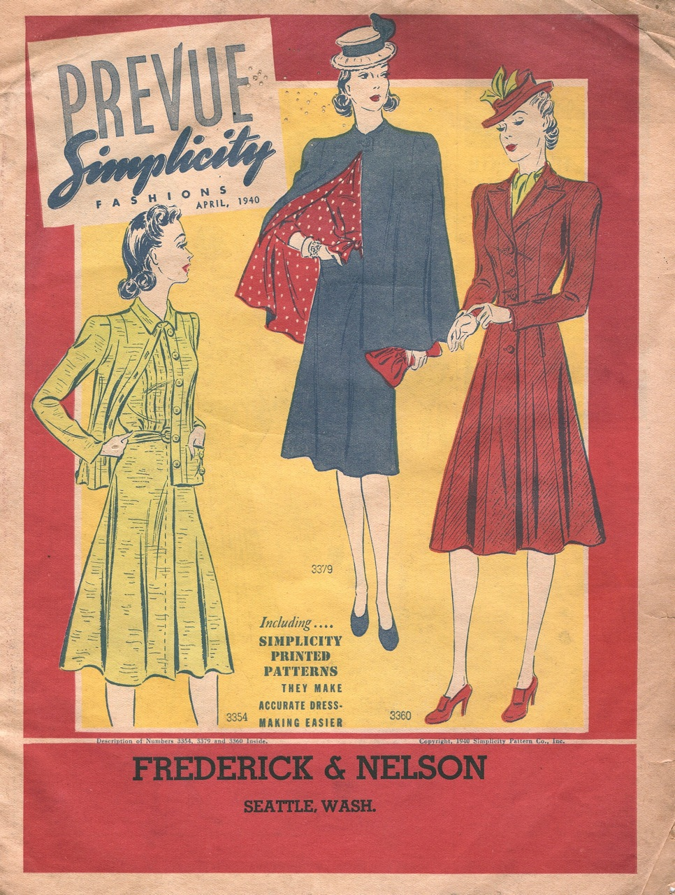 Simplicity Prevue April 1940
