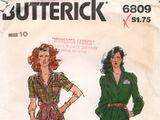 Butterick 6809 B