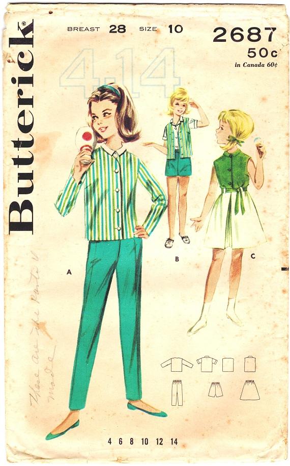 Butterick 2687
