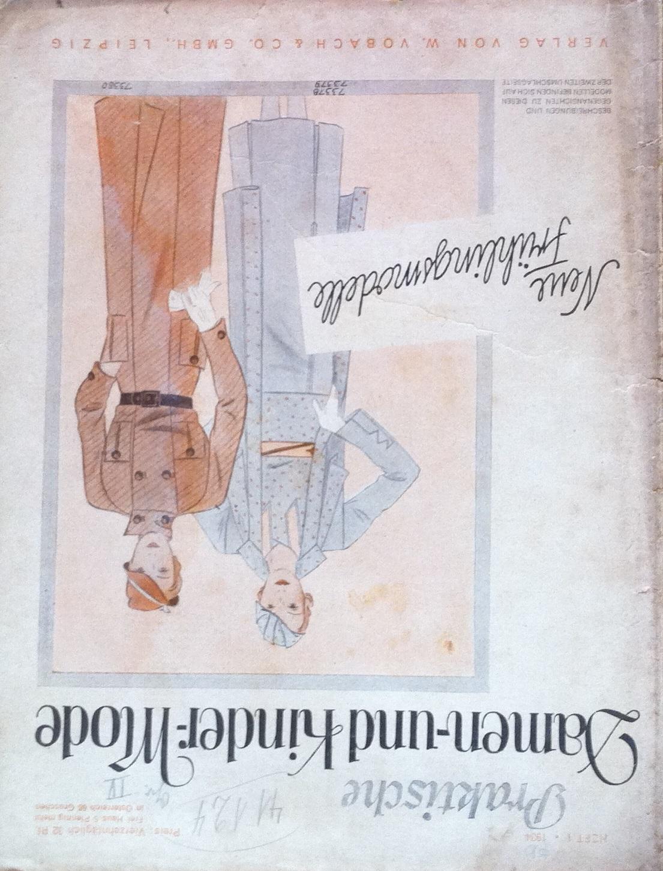 Praktische Damen- und Kinder-Mode No. 1 1934