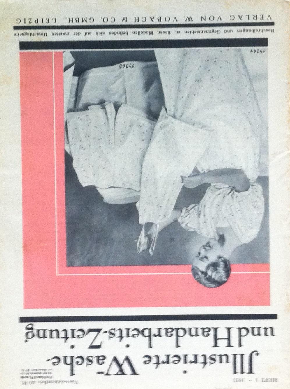 Illustrierte Wäsche- und Handarbeits-Zeitung No. 1 1935