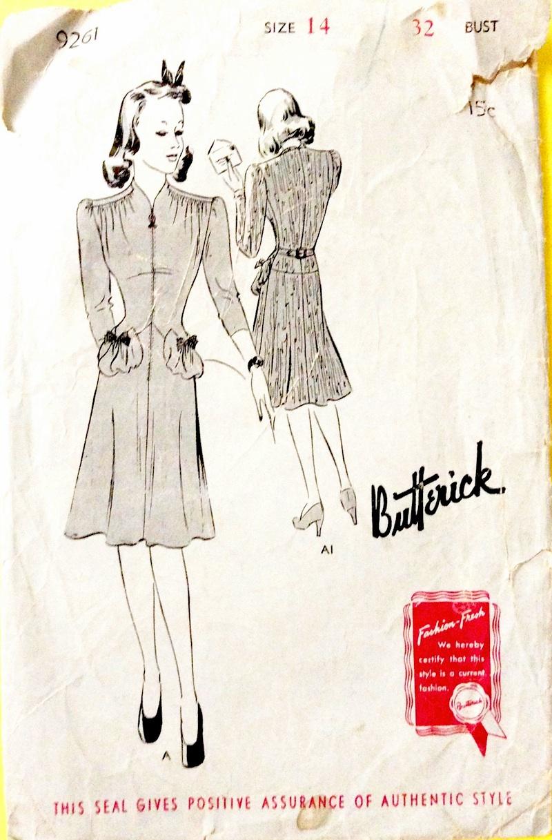 Butterick 9261 A