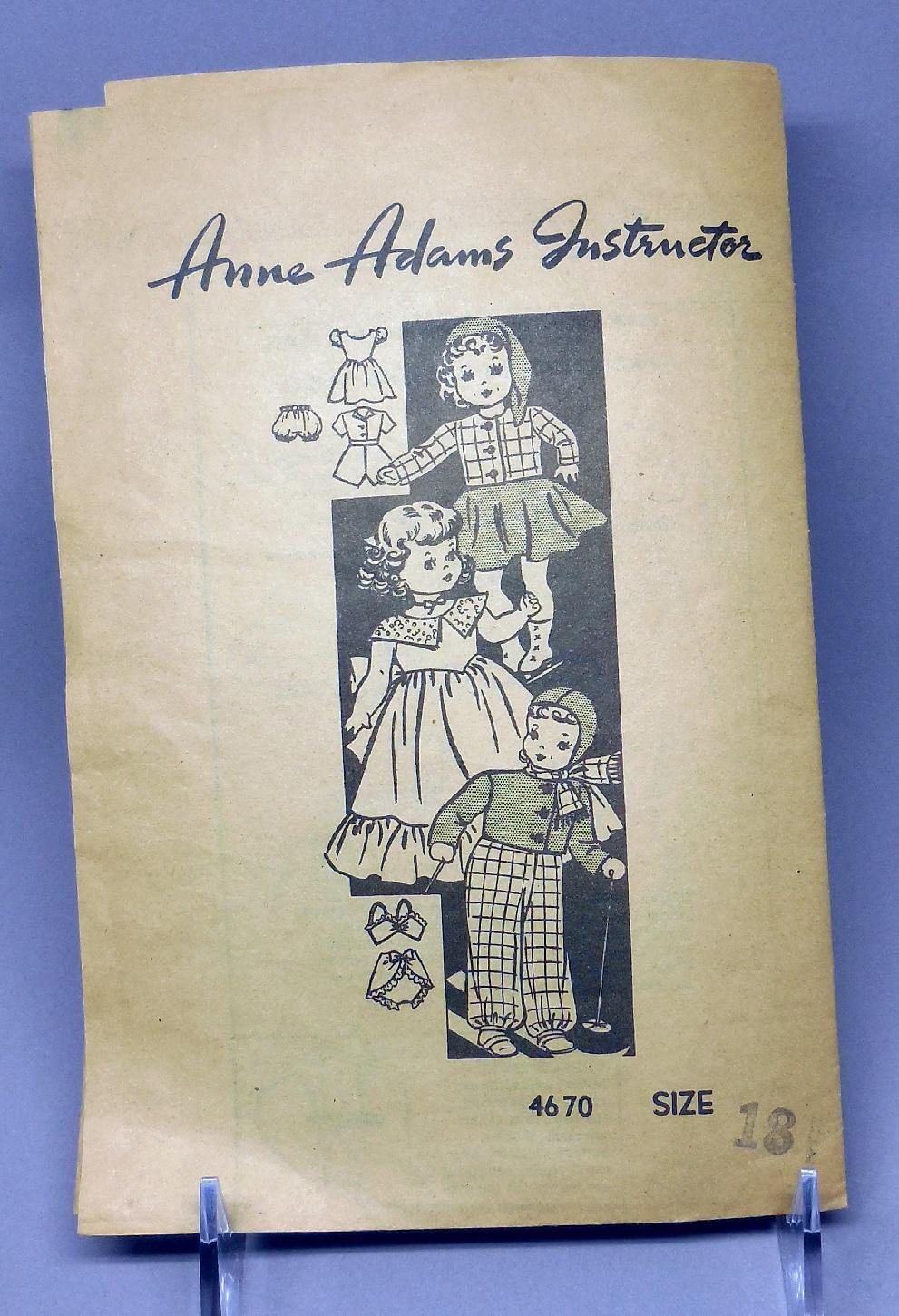 Anne Adams 4670 B