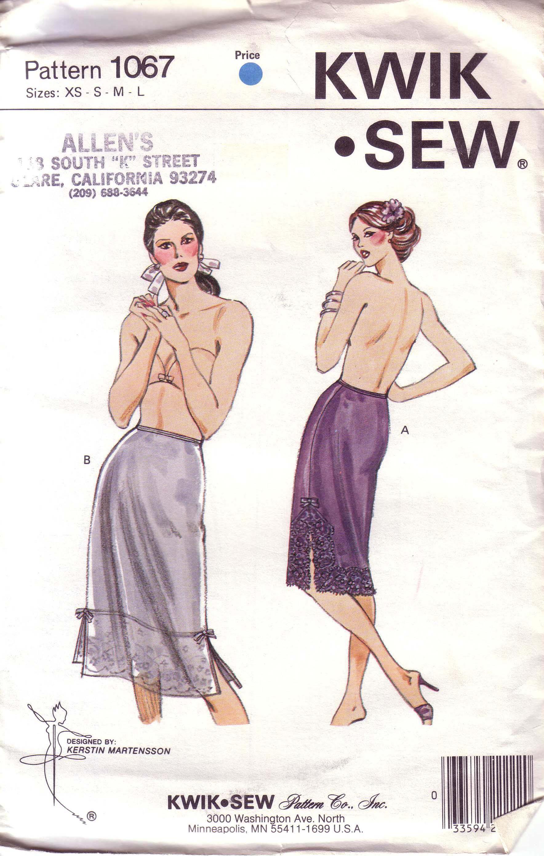 Kwik Sew 1067