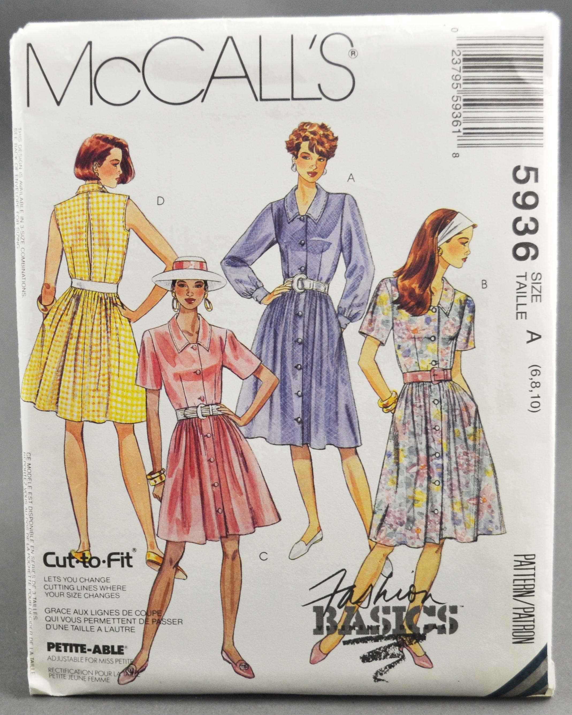 McCall's 5936 A