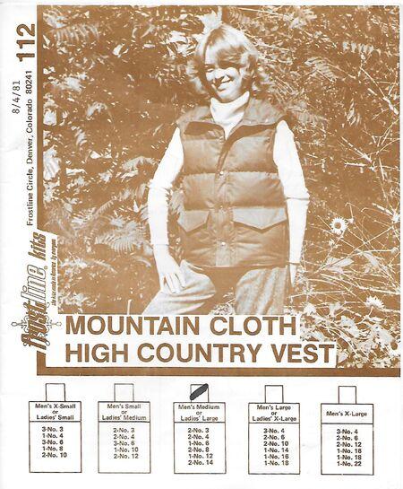 Frostline Kits 112