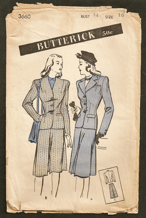 Butterick 3660 C