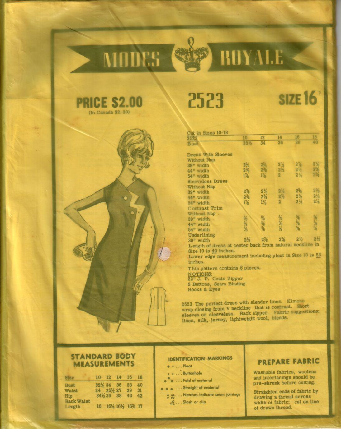 Modes Royale 2523