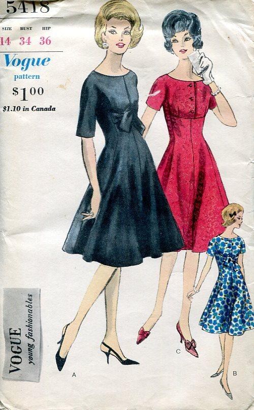 Vogue 5418