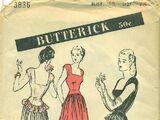 Butterick 3836 B