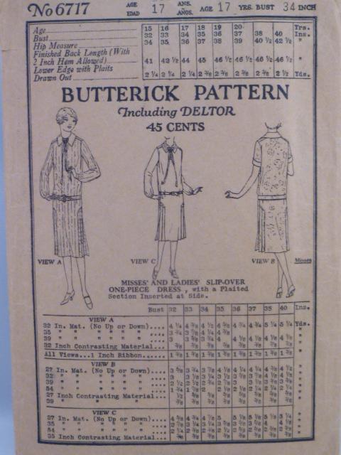 Butterick 6717 C