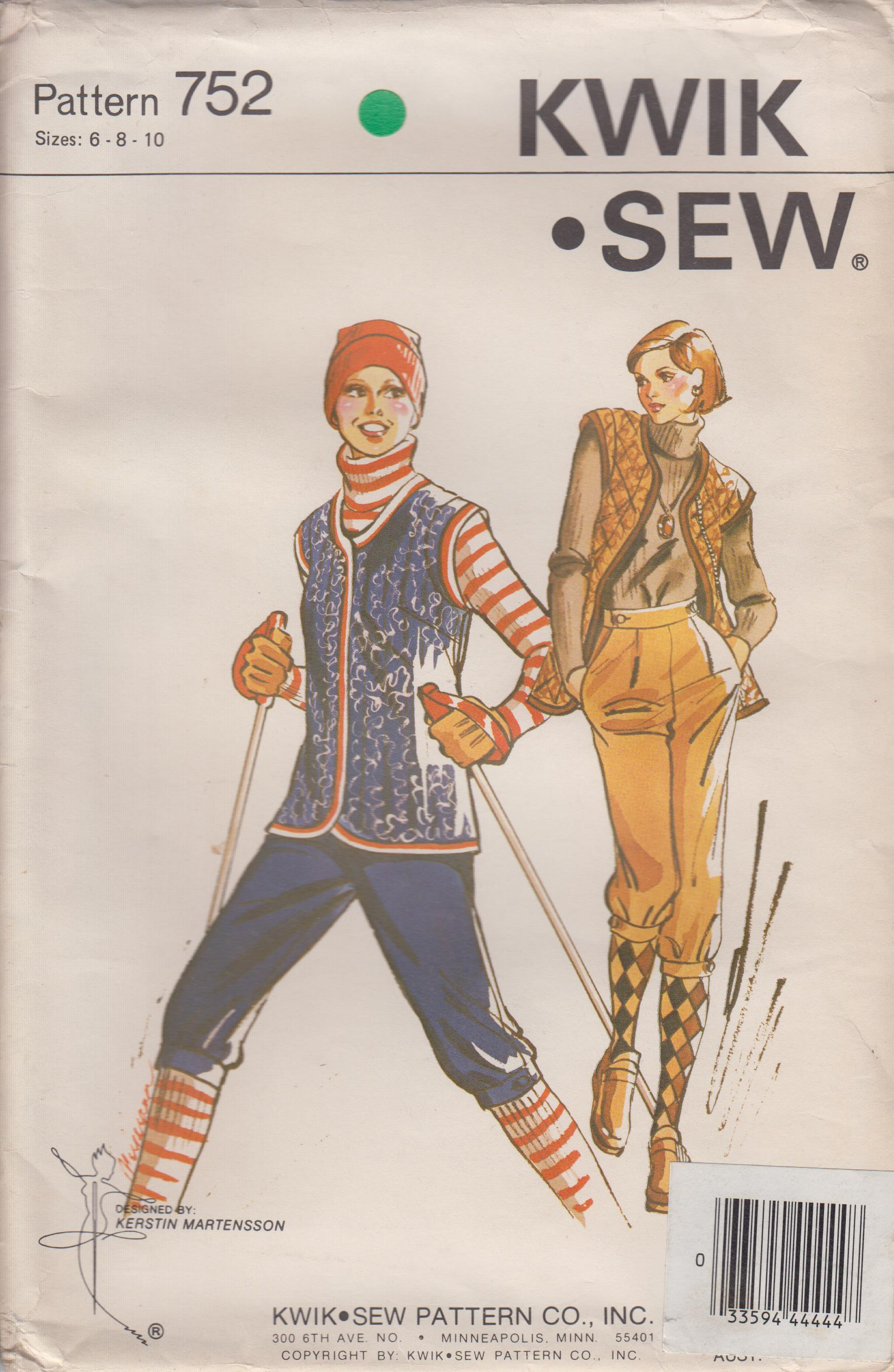 Kwik Sew 752