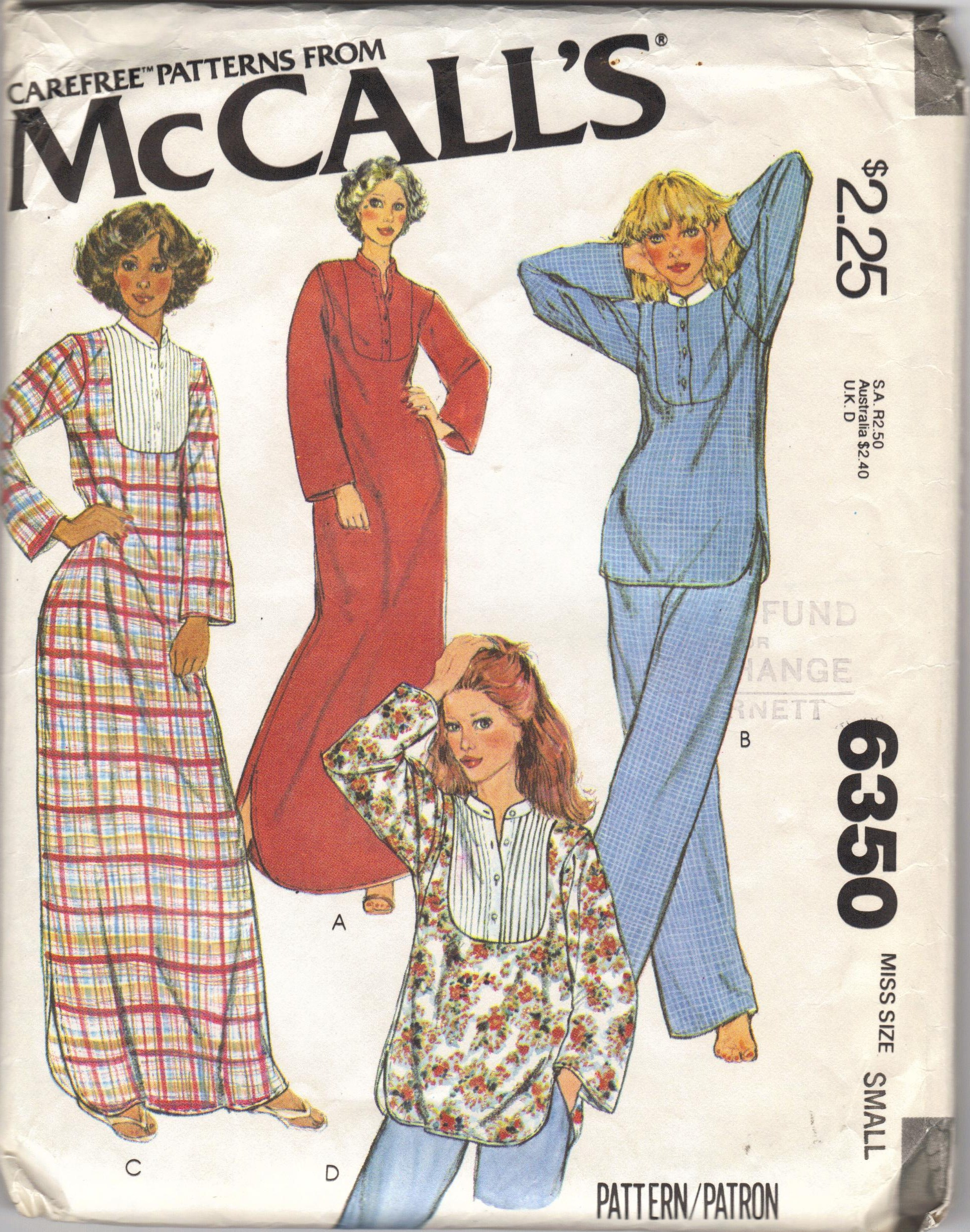 McCall's 6350