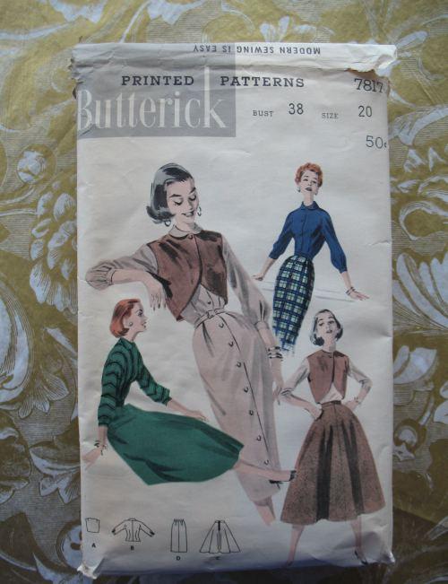 Butterick 7817