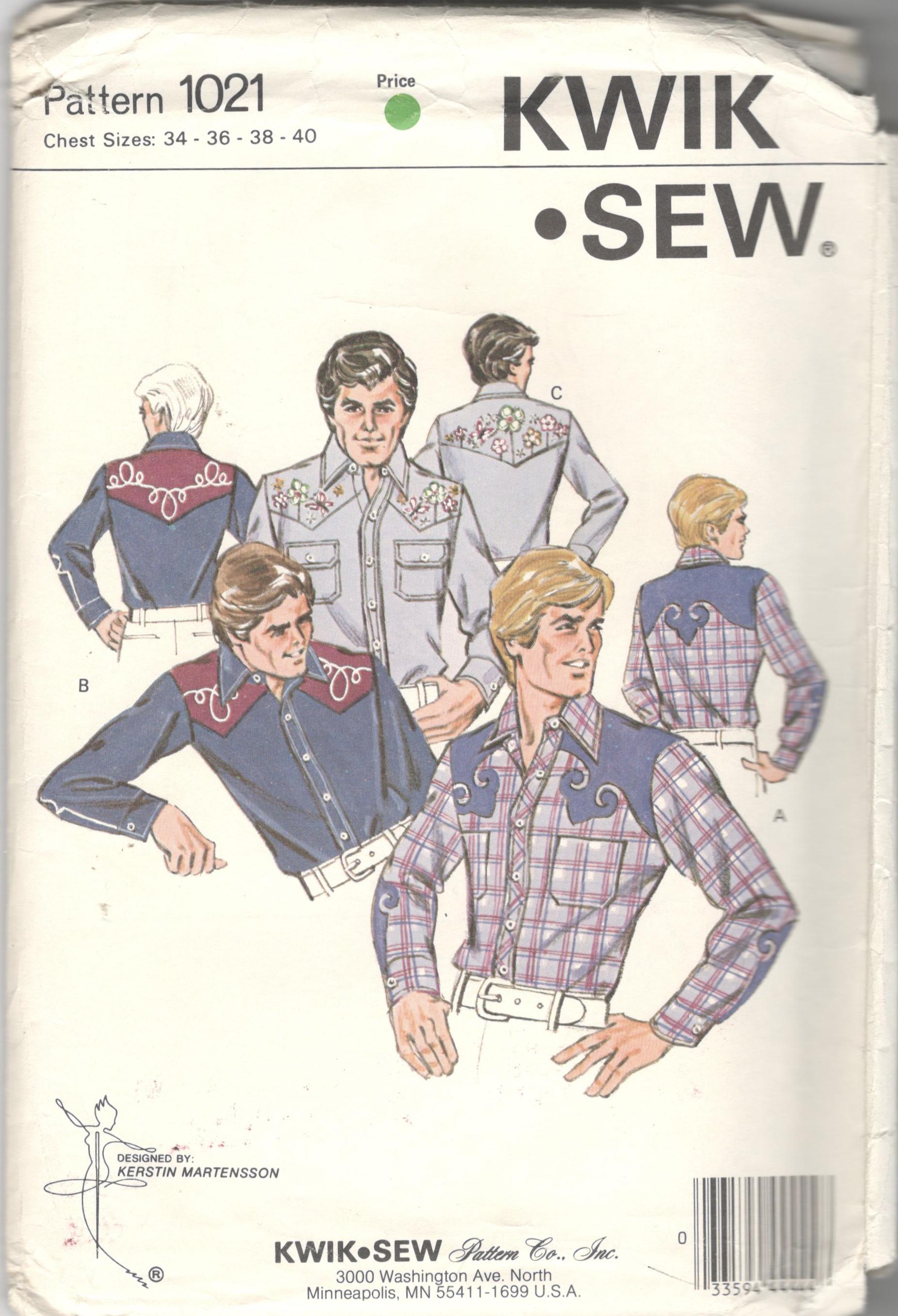 Kwik Sew 1021