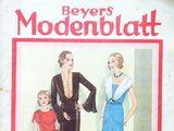 Beyers Modenblatt No. 13 Vol. 10 1931