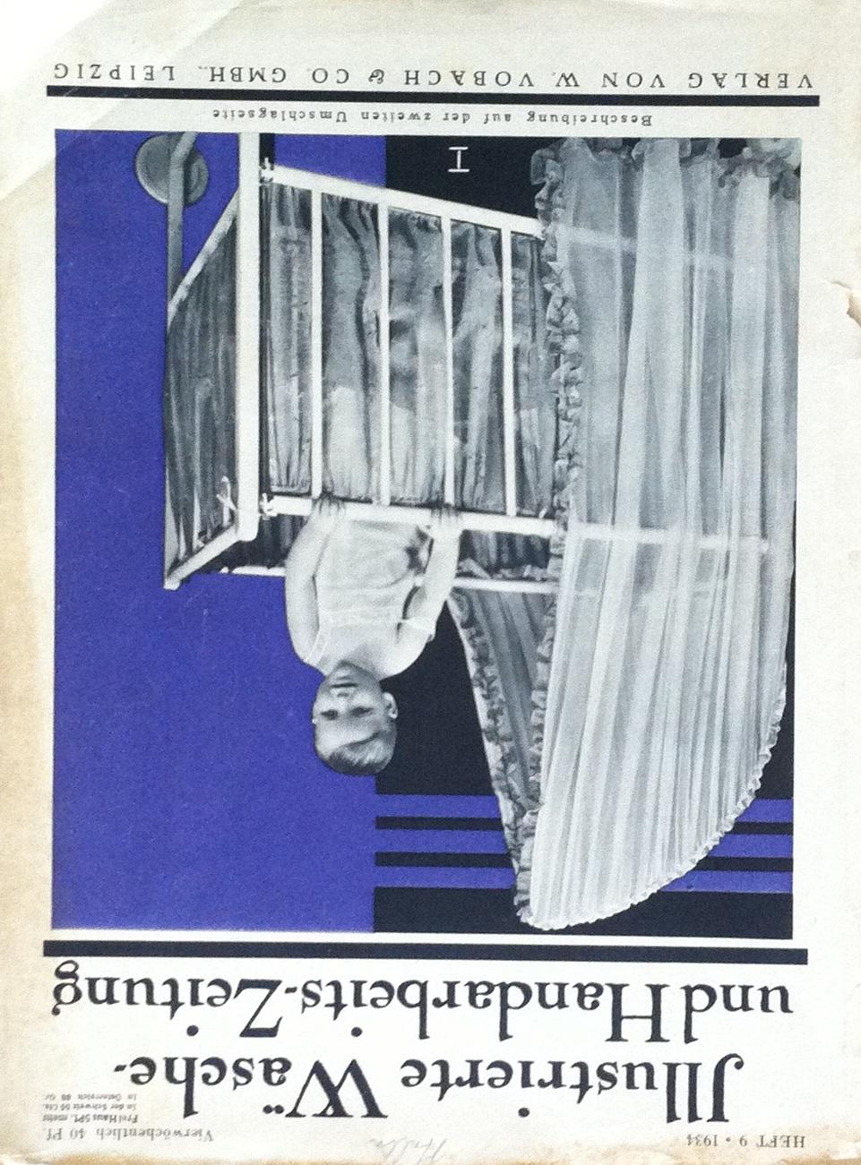 Illustrierte Wäsche- und Handarbeits-Zeitung No. 9 1934