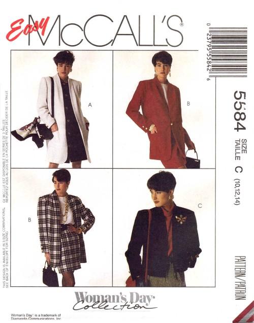 McCall's 5584 A