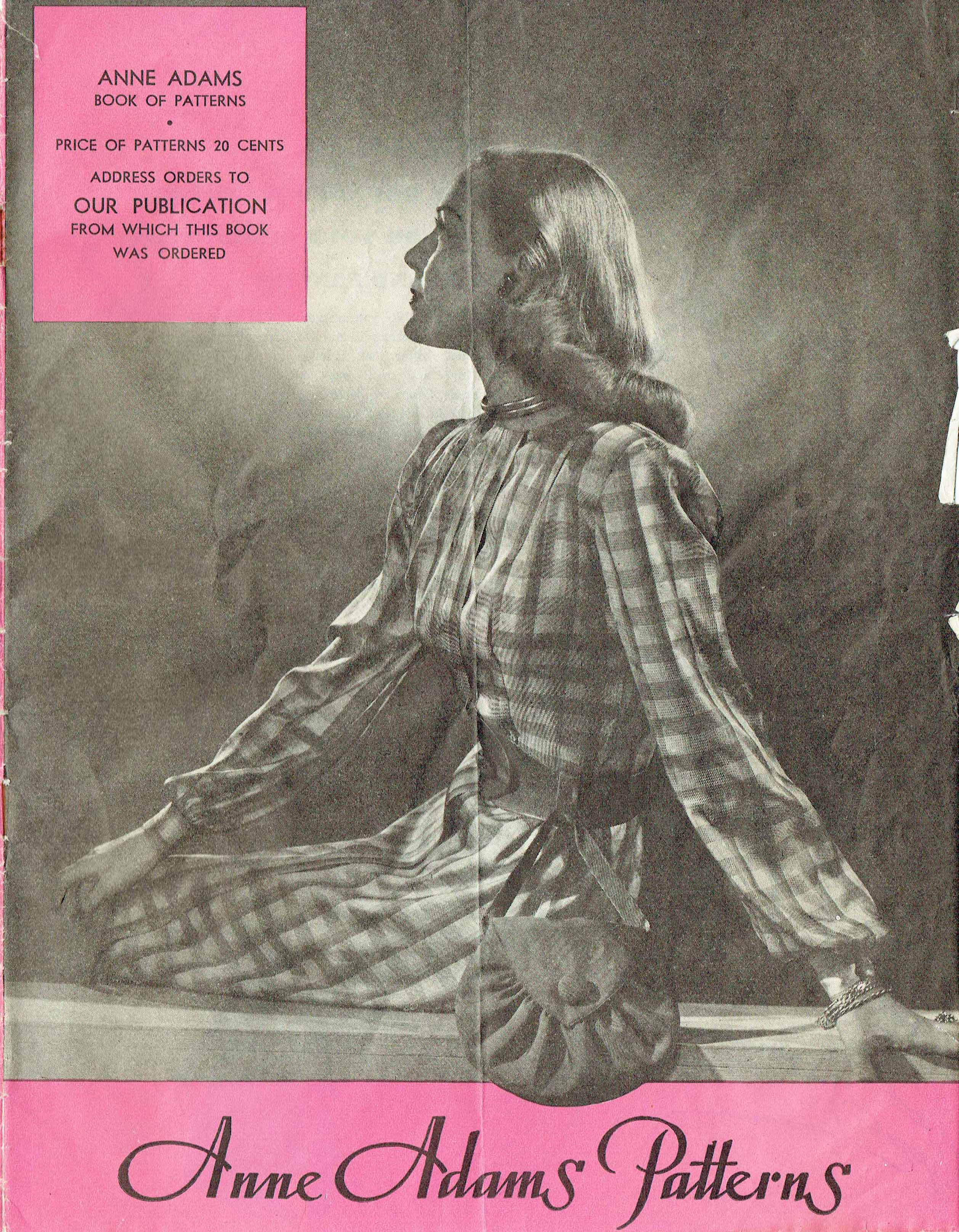 Anne Adams Patterns Spring 1946