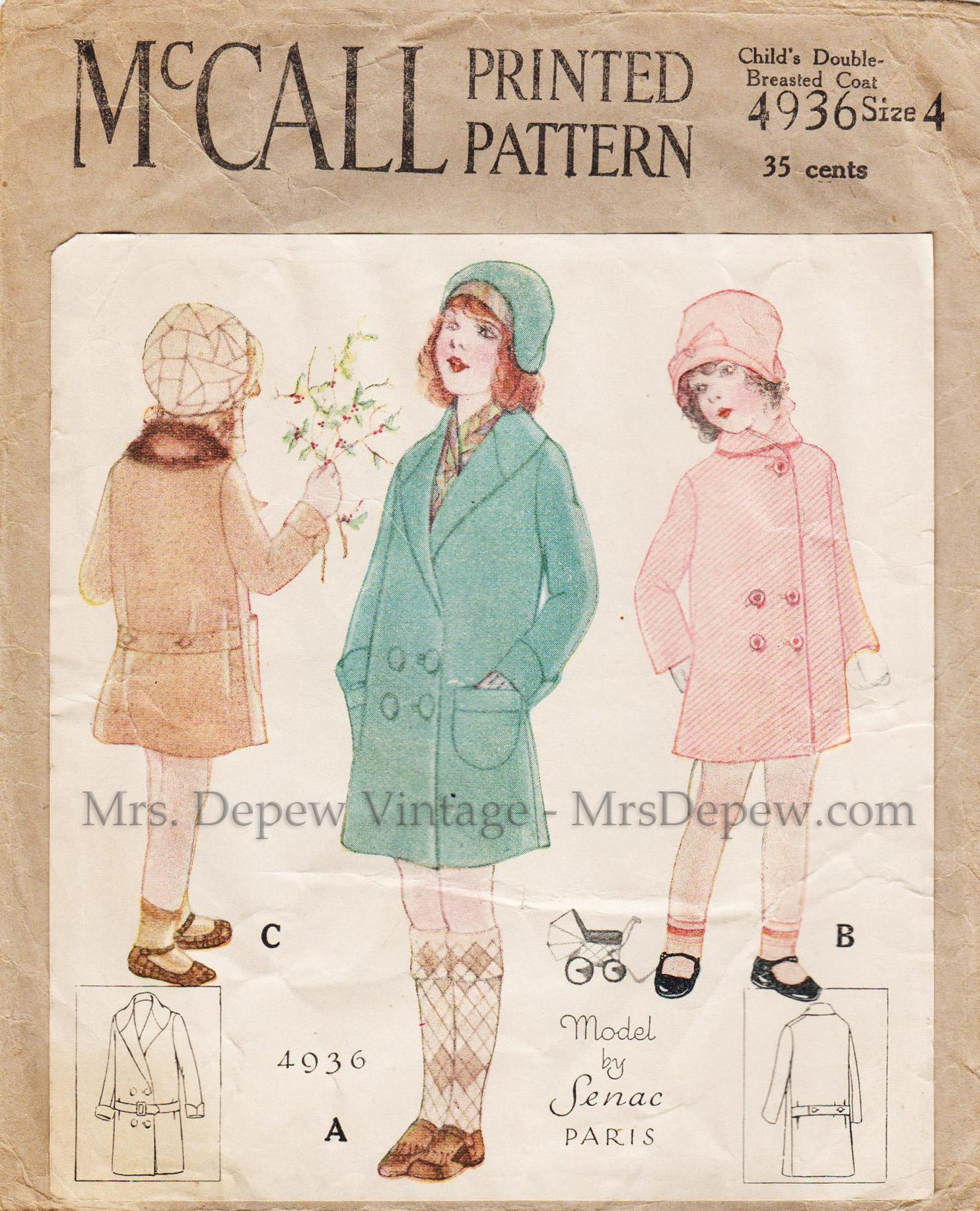 McCall 4936
