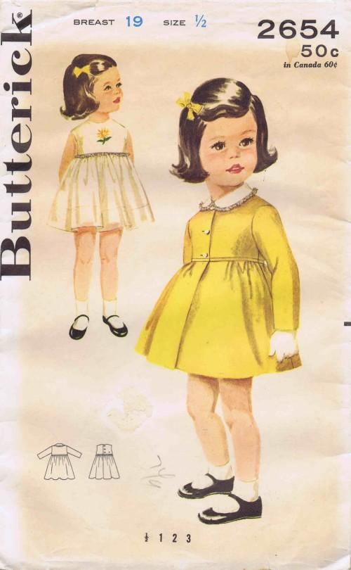 Butterick 2654 A