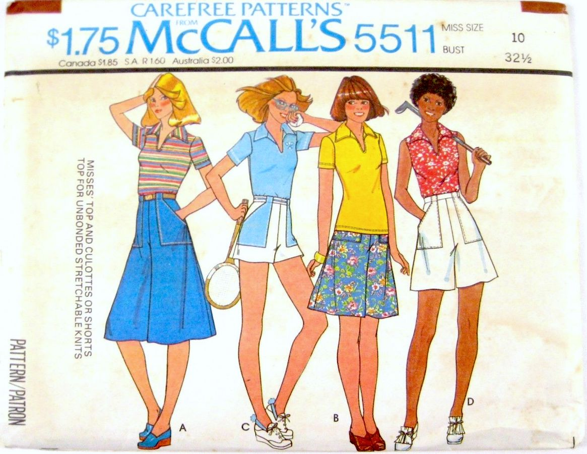 McCall's 5511 A