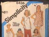 Simplicity 6436 B