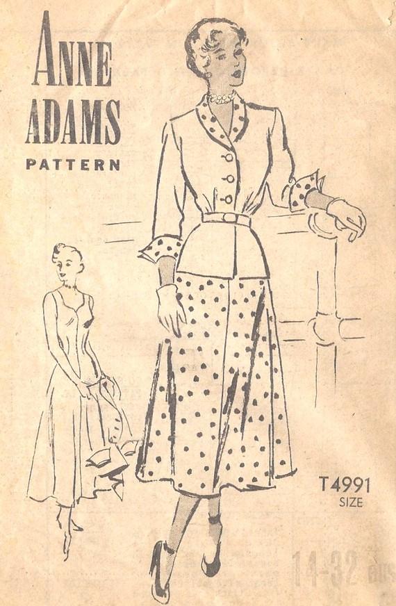 Anne Adams T4991
