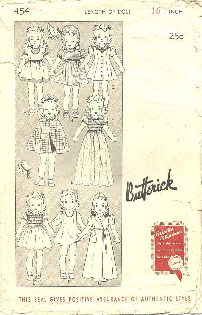Butterick 454