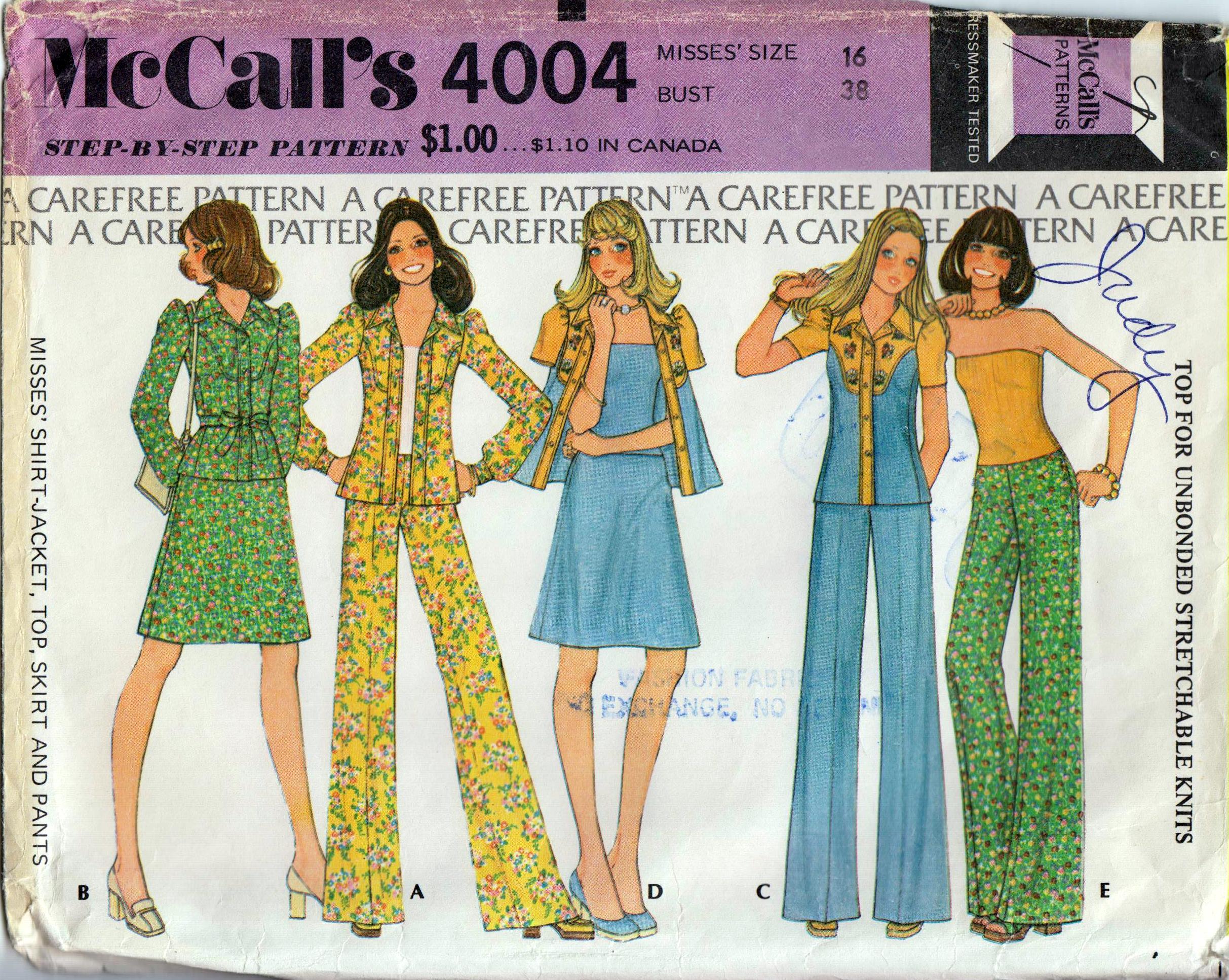McCall's 4004