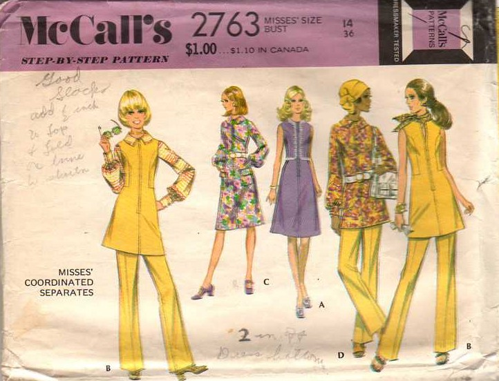 McCall's 2763