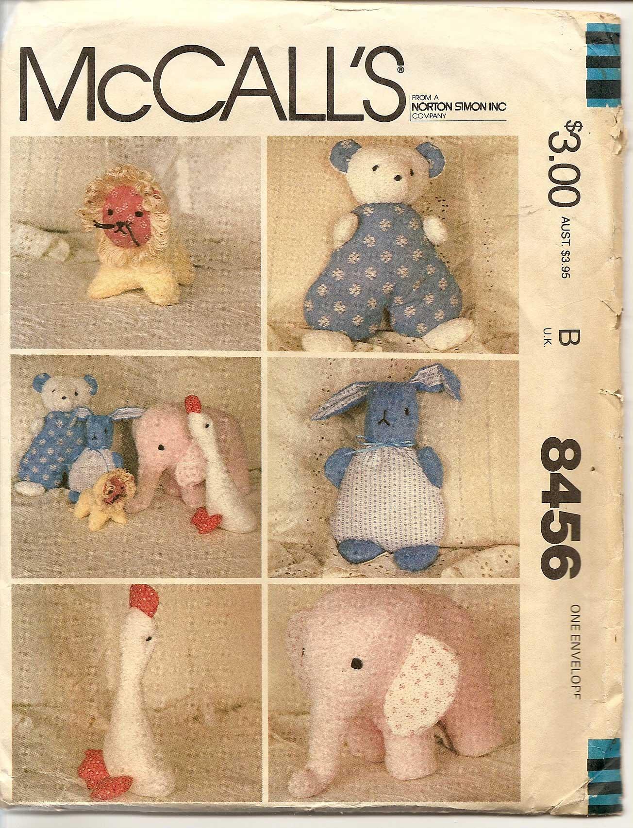 McCall's 8456