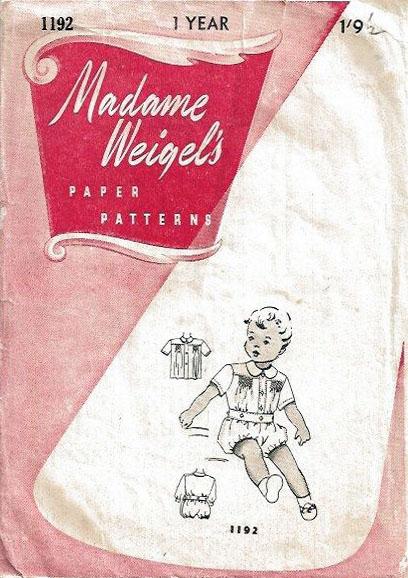 Madame Weigel's 1192