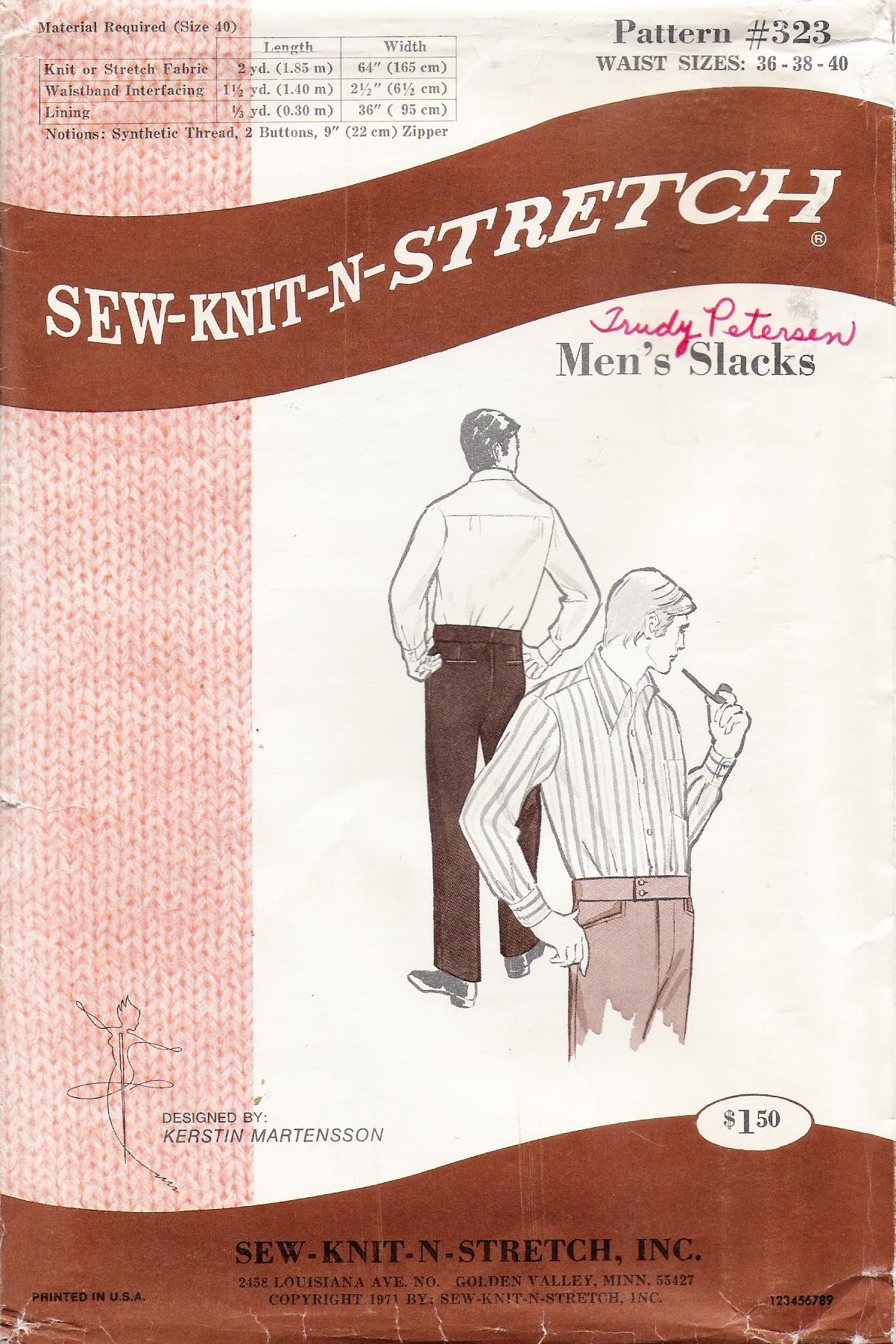 Sew-Knit-N-Stretch 323